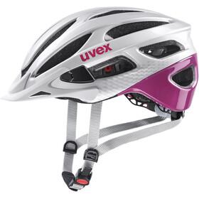 UVEX True Casco, grigio/rosa
